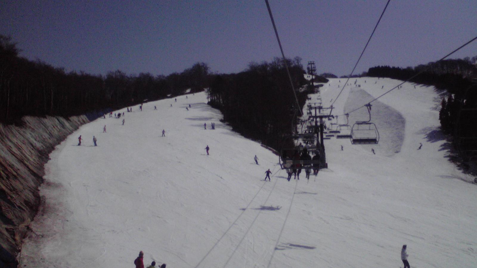 今日のスキージャム勝山4