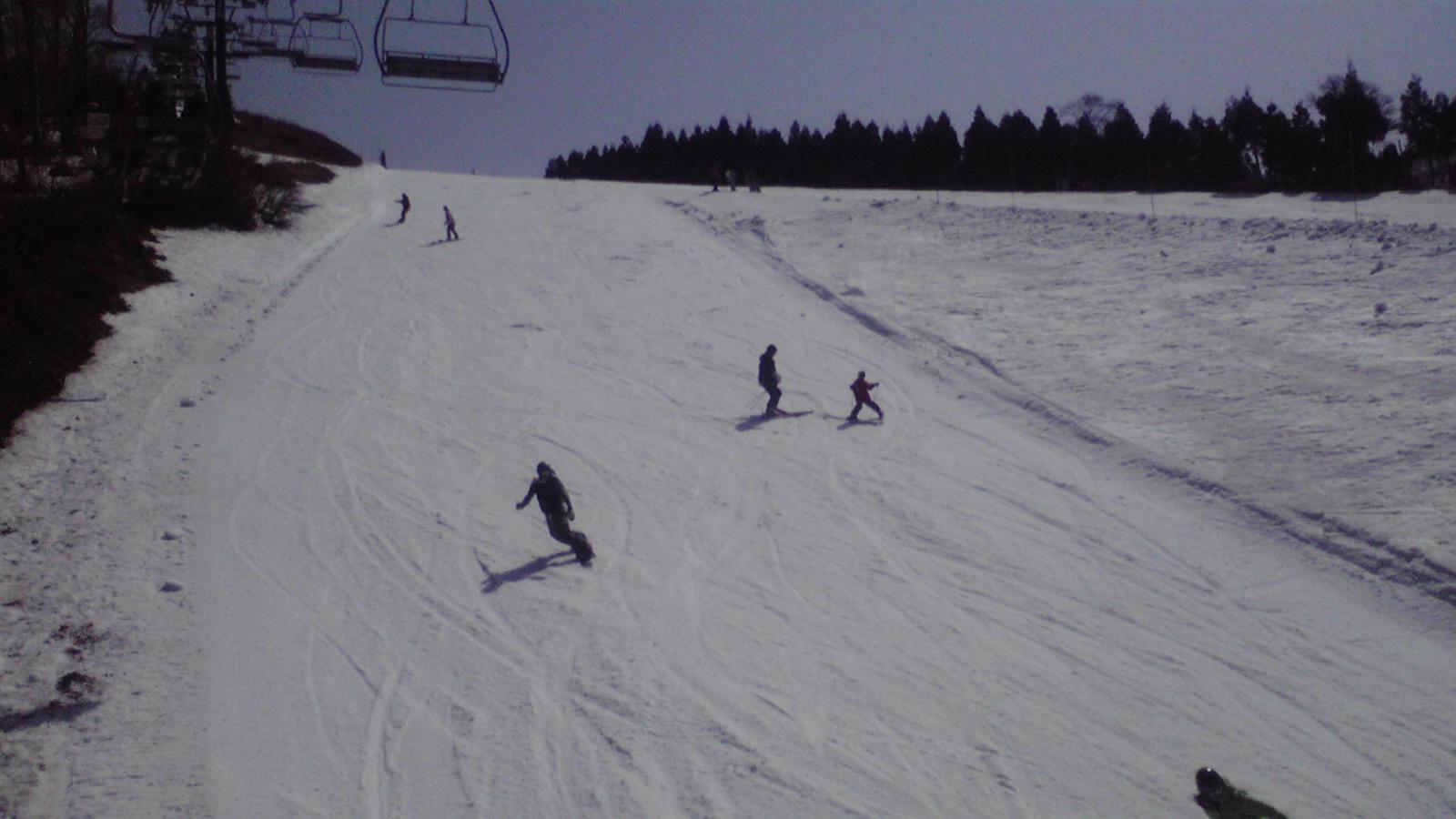 今日のスキージャム勝山5