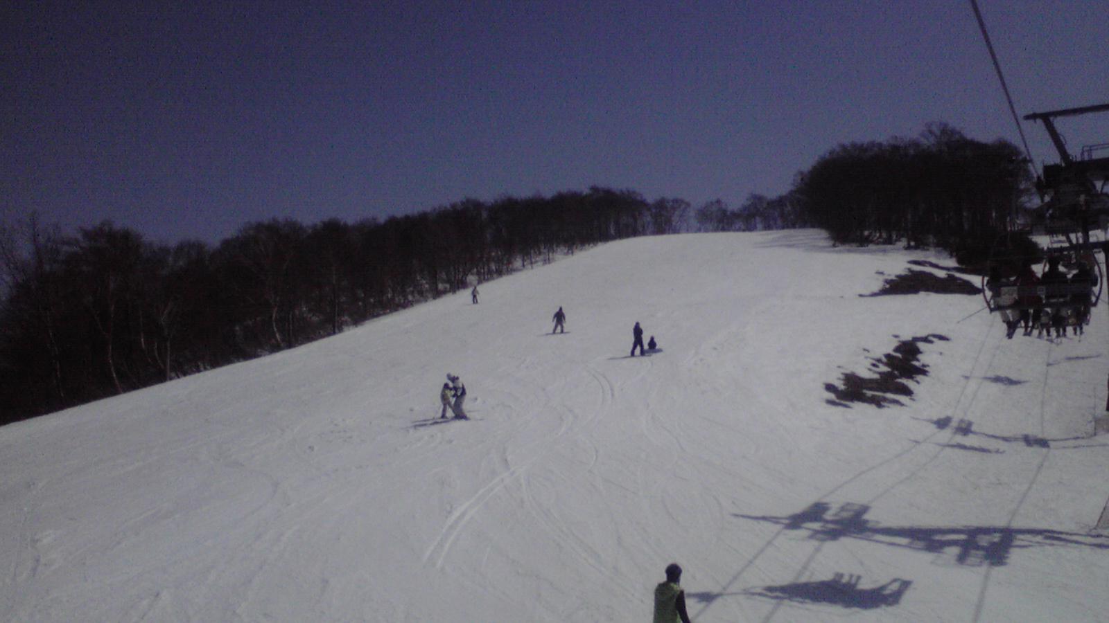 今日のスキージャム勝山6