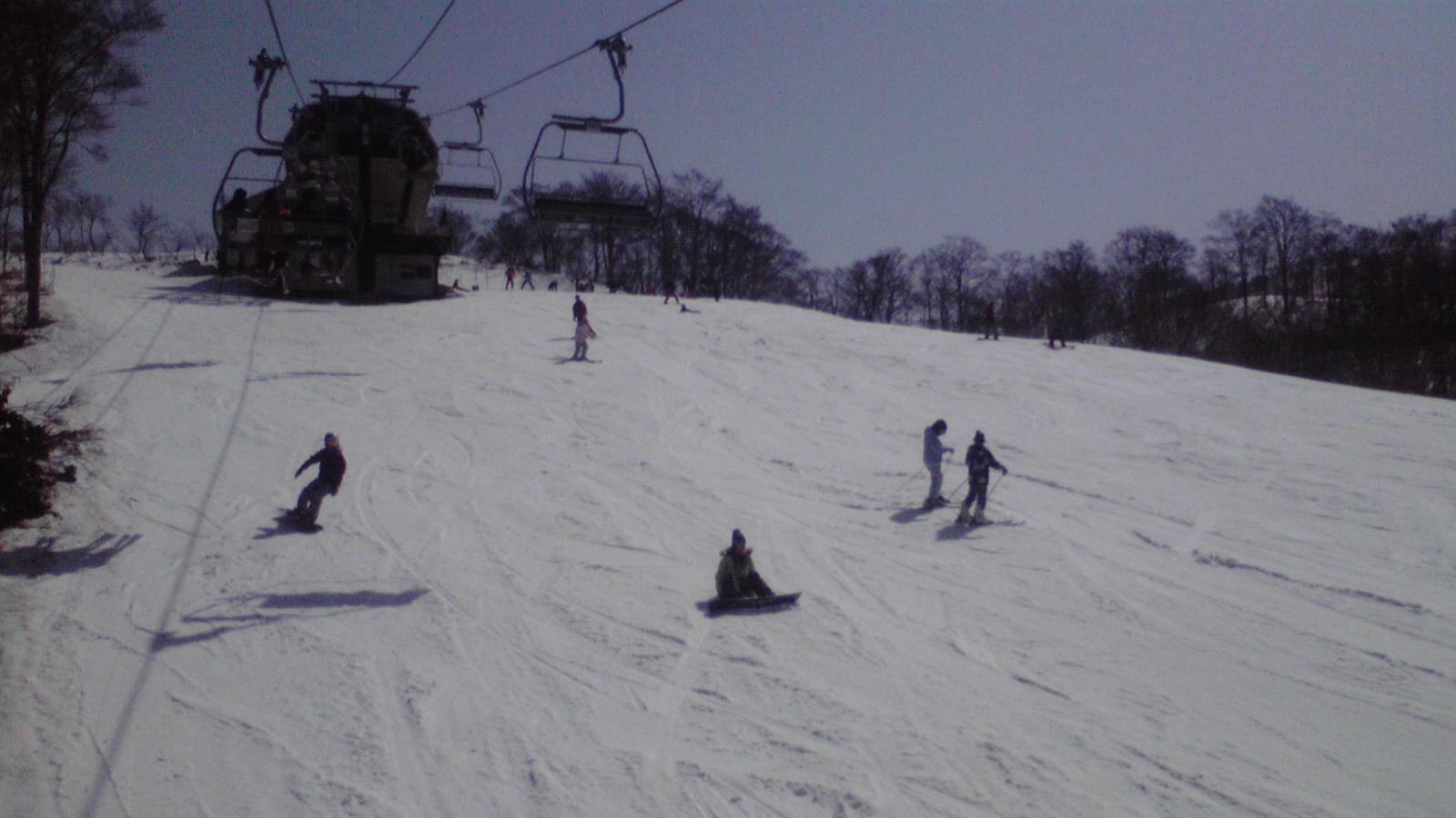 今日のスキージャム勝山8