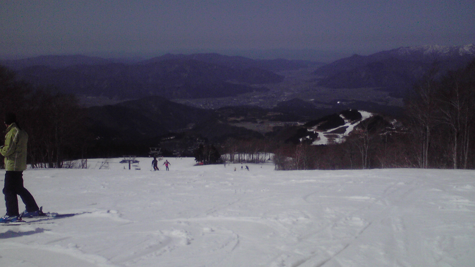 今日のスキージャム勝山9