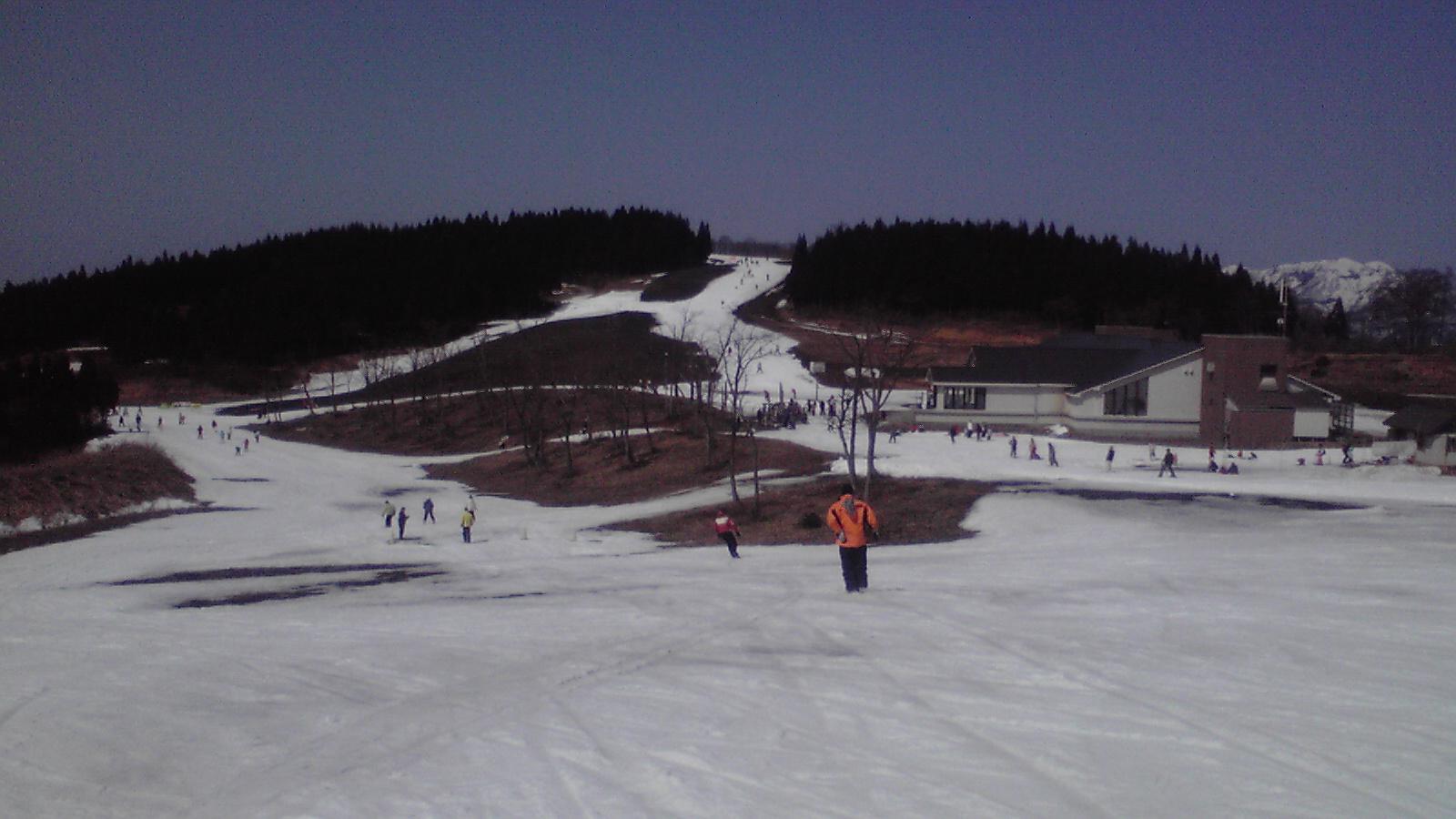 今日のスキージャム勝山10