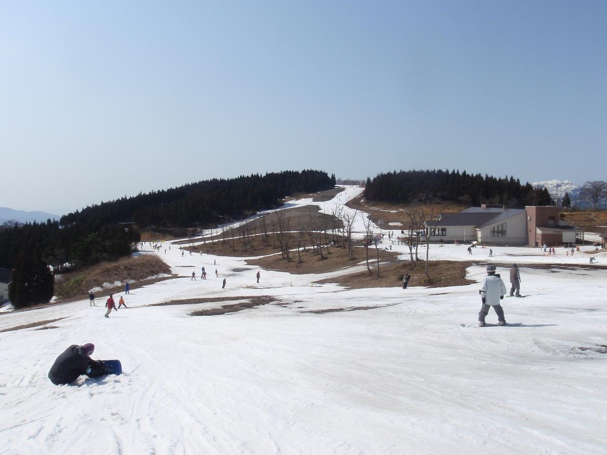 スキー ジャム 勝山 積雪