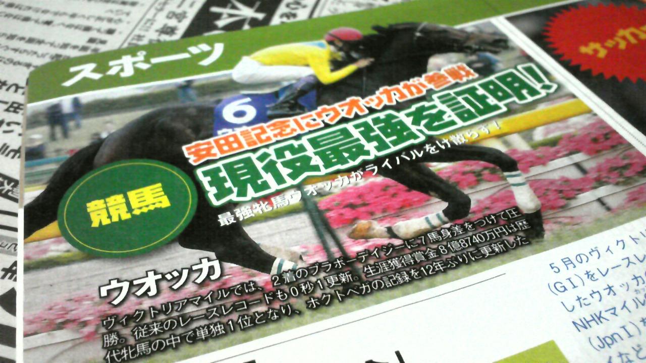 『第59回安田記念』