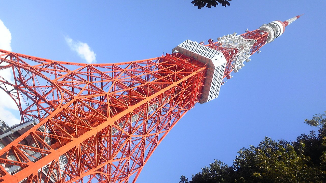 秋休み旅行「東京タワー」