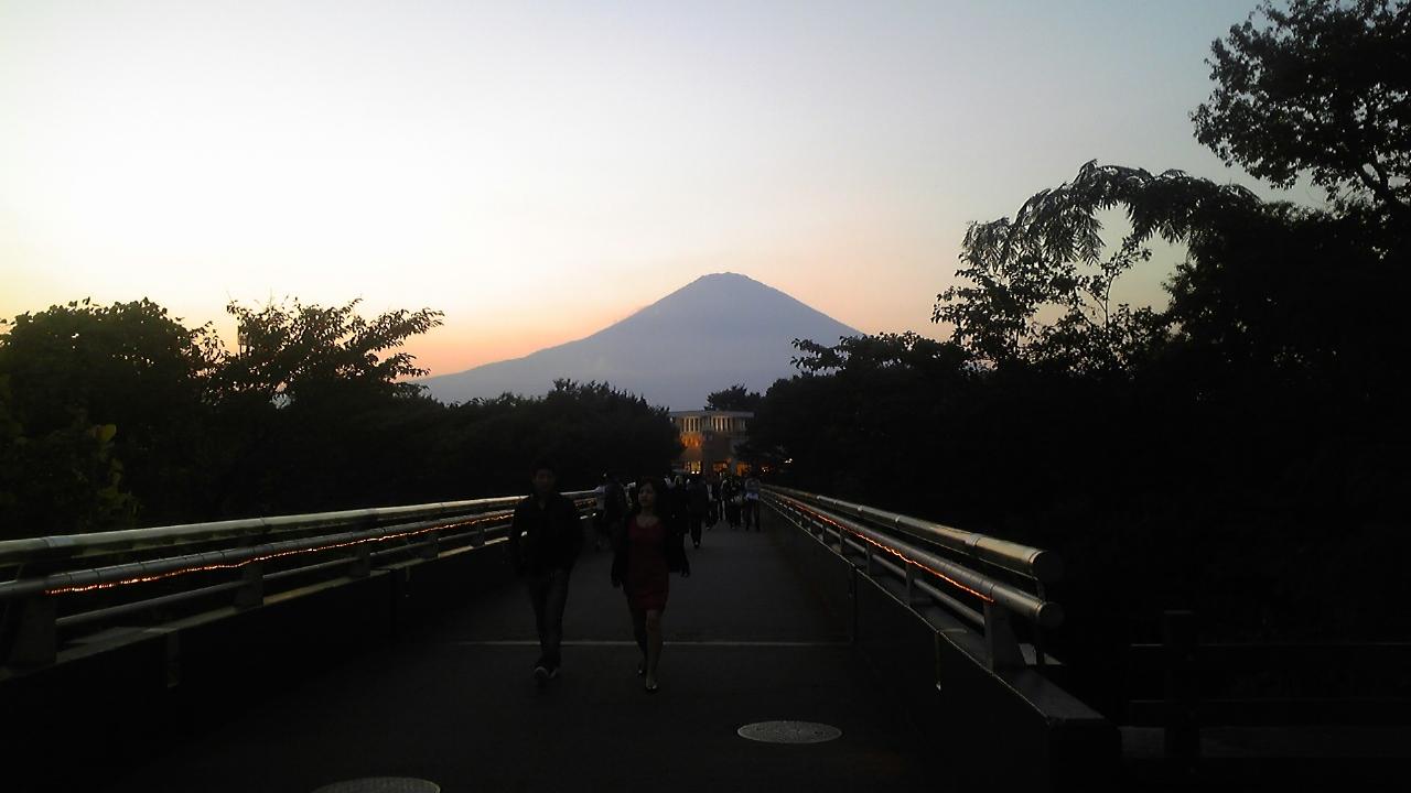 秋休み旅行「富士山」