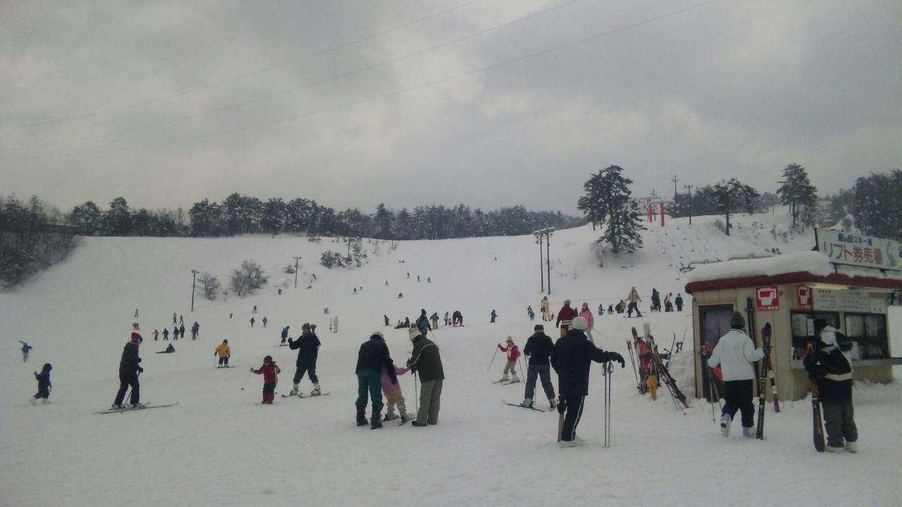 今日は雁ケ原スキー場