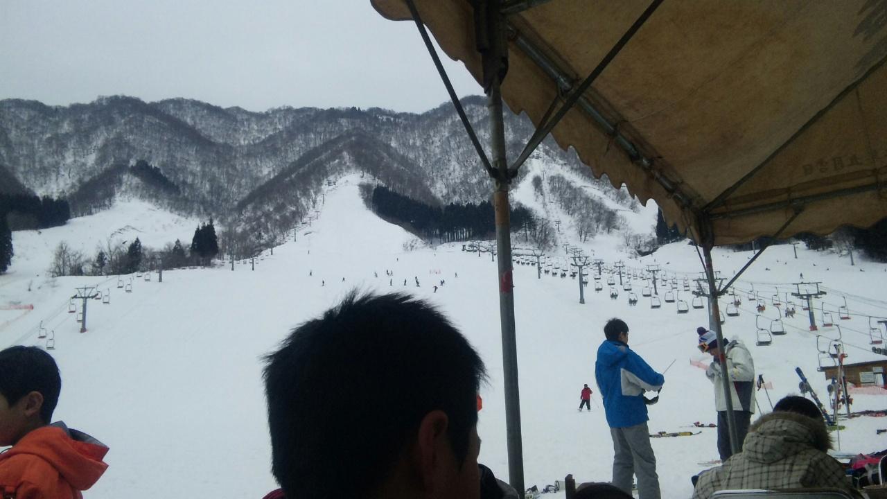 今日は九頭竜スキー場