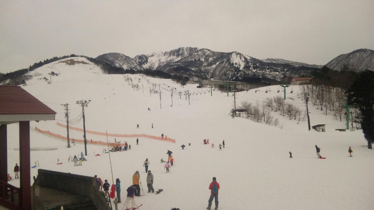 今日は六呂師高原スキー場