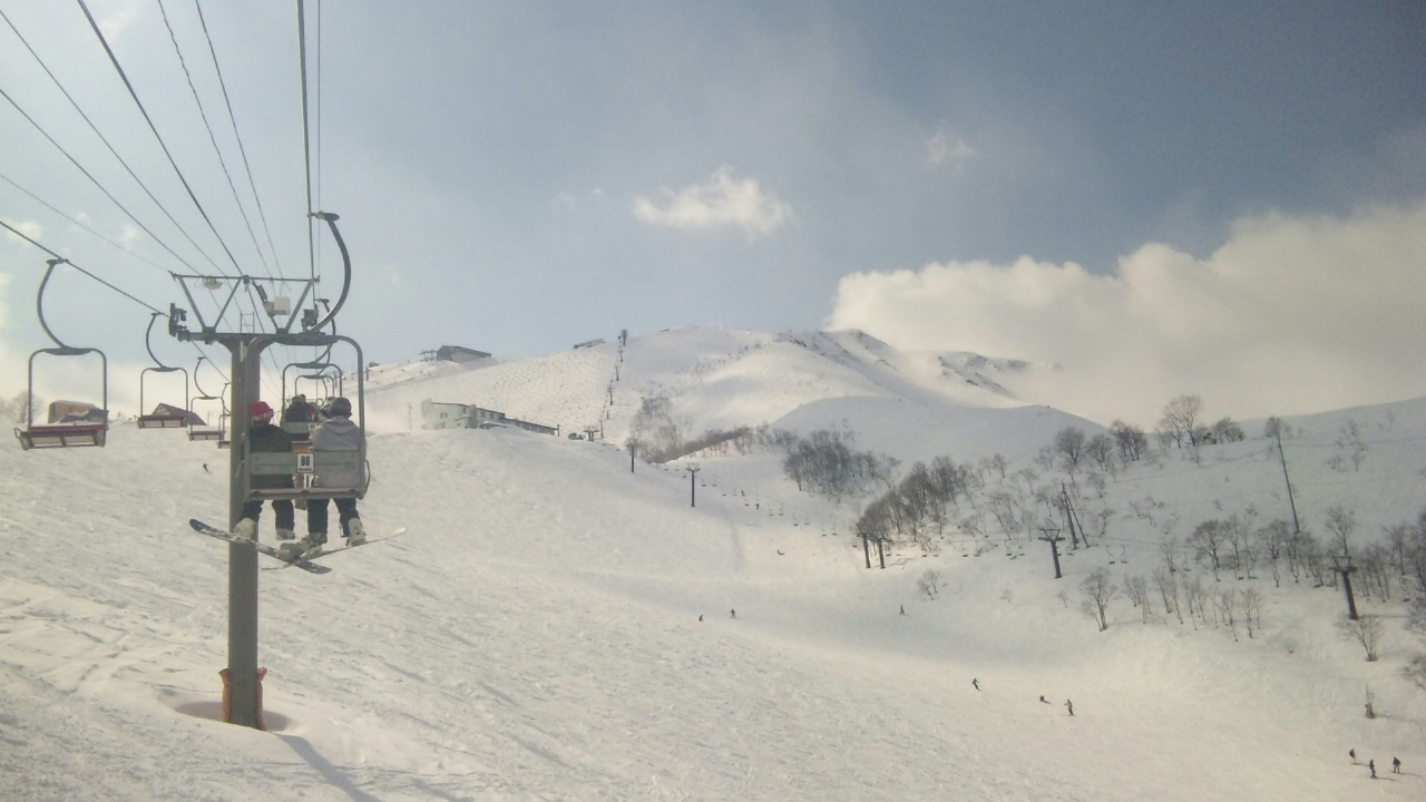 今日は白馬八方尾根スキー場