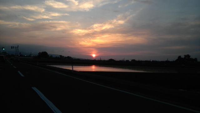 夕陽が好きです