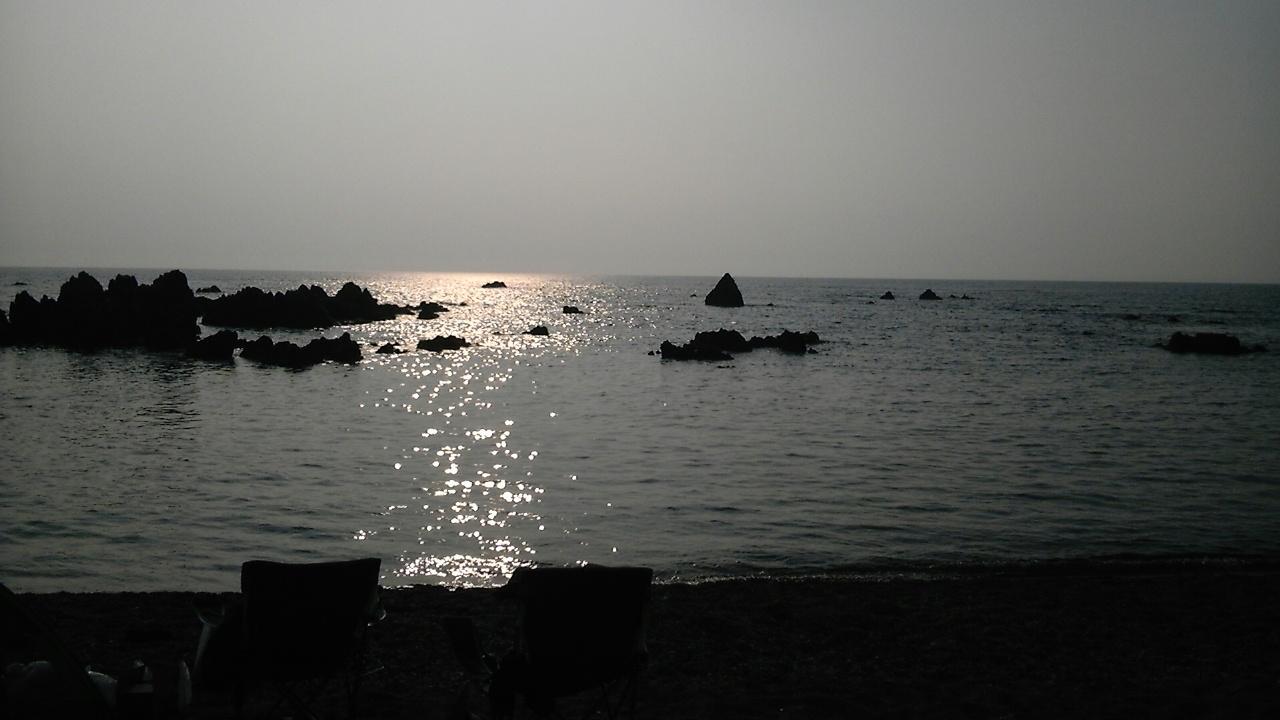 シュノーケリング越前長洲浜