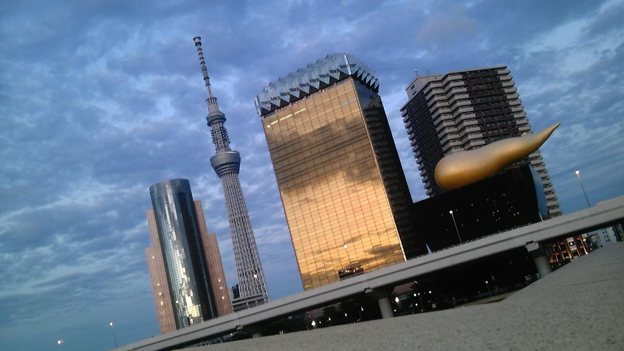 東京出張中「スカイツリー」
